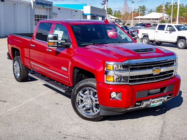 new 2018 chevrolet silverado 2500hd high country 4d crew cab in aiken k74471 master chevrolet. Black Bedroom Furniture Sets. Home Design Ideas